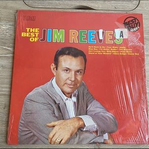 The Best of Jim Reeves Vinyl Record